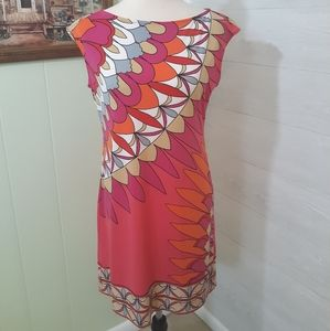 Donna Morgan retro stretchy dress sz 6 *C6